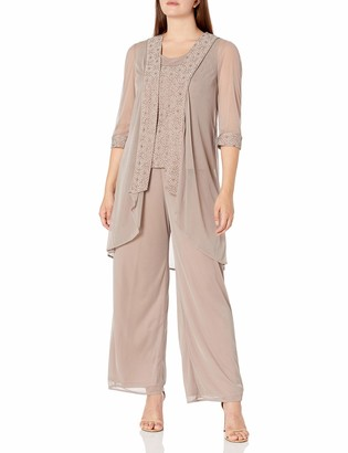 R & M Richards R&M Richards Women's The Mother of The Bride Pant Set