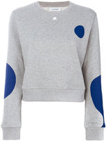 Courreges printed sweatshirt - women - Cotton - 2
