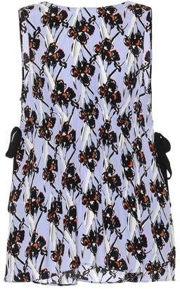 Dorothee Schumacher Flower Breeze silk-blend crApe top