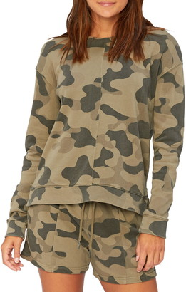 Threads 4 Thought Effie Camo Print Pullover