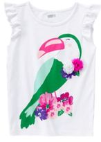 Crazy 8 Sparkle Toucan Tee