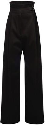 Philosophy di Lorenzo Serafini High Waist Cotton Wide Pants