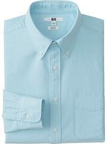 Uniqlo Men's Oxford Slim-Fit Long Sleeve Shirt