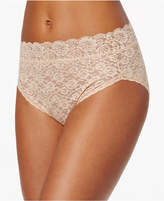 Vanity Fair Women's Flattering Lace Hi Cut Panty 13280