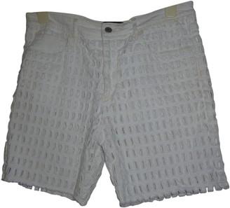 Isabel Marant White Cotton - elasthane Shorts for Women
