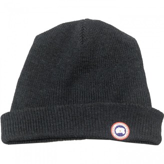Canada Goose Navy Wool Hats & pull on hats