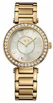 Juicy Couture Luxe Women's Quartz Watch with Silver Dial Analogue Display and Rose Gold Bracelet 1901151