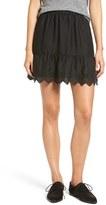 Madewell Women's Embroidered Miniskirt