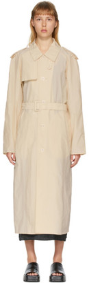 BEIGE AMOMENTO Light Trench Coat