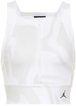 Nike Jordan Utility printed crop top