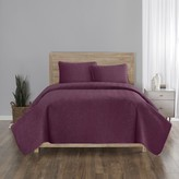 Vue Feyra 3-piece Velvet Quilt Set