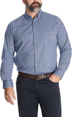 Johnny Bigg Oliver Regular Fit Check Stretch Button-Up Shirt