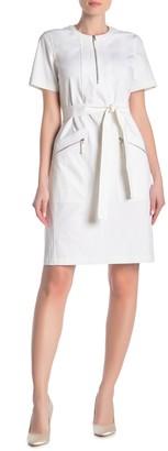 Lafayette 148 New York Eliziaella Tie Waist Dress
