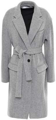 IRO Charade Belted Wool-blend Coat