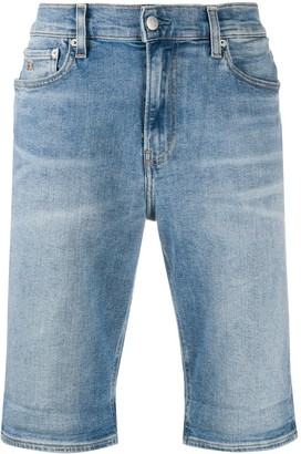 Calvin Klein Jeans Knee-Length Denim Shorts