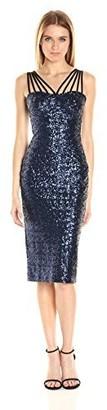 Dress the Population Women's Alex Sequin Midi Dress