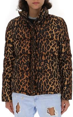 Miu Miu Animalier Print Padded Jacket