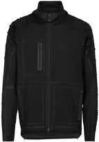 Y-3 Sport Airflow Black Hooded Shell Jacket