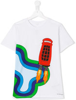 Burberry printed T-shirt - kids - Cotton - 14 yrs