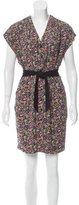 Sandro Floral Printed Mini Dress