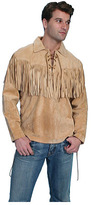 Scully Men's Fringe Leather Trapper Shirt 5