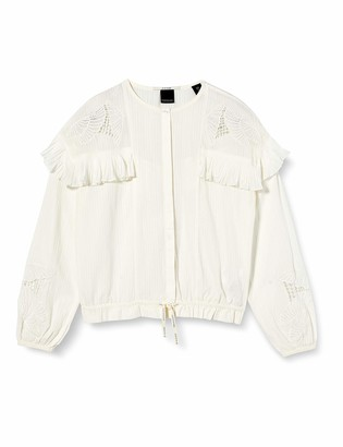Scotch & Soda Girl's Loose Shirt with Lace and Sport Detailing