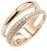 Effy Women's 14k Rose Gold Diamond Ring