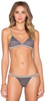 Indah Pearl Reversible Bikini Top