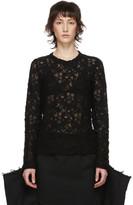 Comme des Garcons Black Lace Pullover