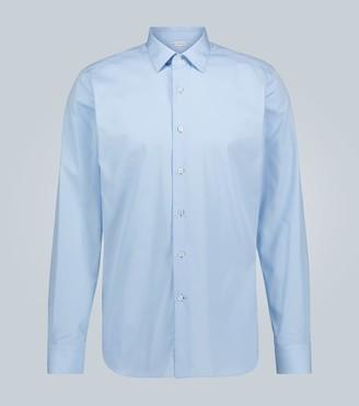 Caruso Cotton slim-fit formal shirt