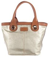 Kate Spade Leather-Trimmed Canvas Tote