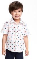 Old Navy July 4th Pocket Shirt for Toddler