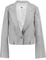 MM6 MAISON MARGIELA Cropped Wool-Blend Blazer