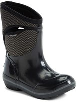 Bogs Women's 'Plimsoll Herringbone' Mid High Waterproof Snow Boot