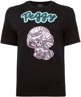 G.V.G.V. sequin applique T-shirt - women - Polyester/Polyurethane/Rayon/Tencel - XS