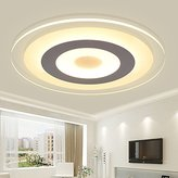 Lilamins Led Warm Modern Minimalist Creative Personality Round Room No Dimmer Lighting ceiling Lighting for Bathroom, bedroom,Kitchen, Hallway, Office, Corridor,42Cm+ No Polarity Dimming