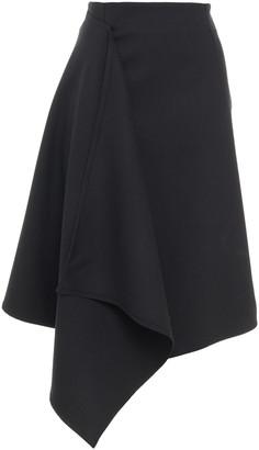 Rodebjer Atilla Asymmetric Draped Crepe Skirt