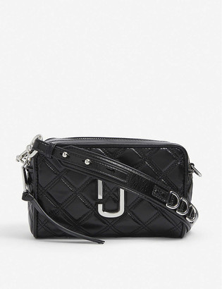 Marc Jacobs Softshot 21 grained leather cross-body bag