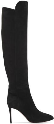 Aquazzura 85mm Gainsbourg Suede Boots