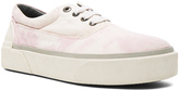 Lanvin Worn Fabric Oxford Sneakers