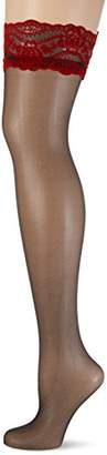 Fiore Women's Nocturne/Sensual Hold - up Stockings, 20 DEN,(Size: 2)