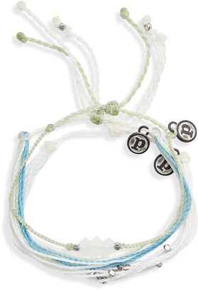 Pura Vida Mental Health Awareness 3-Pack String Bracelets