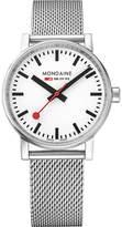 Mondaine MSE-35110-SM evo2 stainless steel watch