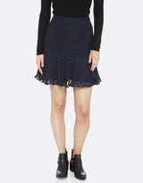 Oxford Sabrina Spotted Skirt