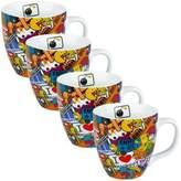 Konitz Sticker Bombing Mugs (Set of 4)