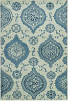 "D Style Menagerie MEN1548 Ivory 8'2"" x 10' Area Rug"