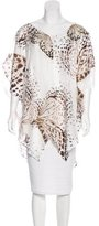 Blumarine Silk Embroidered Top