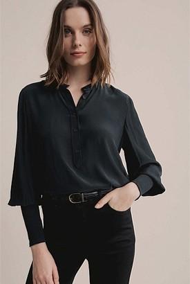 Witchery Shirred Cuff Shirt