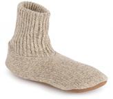 Muk Luks Natural Morty Wool-Blend Slipper Socks