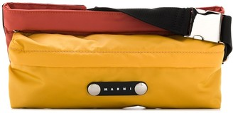 Marni Colour-Block Belt Bag